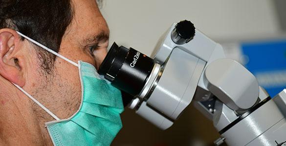 Zahnbehandlung-Laser